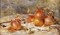 Onions 1881   Pierre Auguste Renoir   Oil Painting