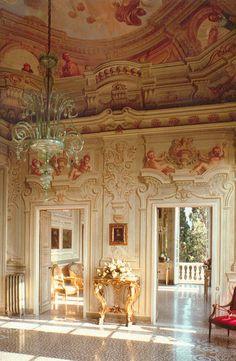 Villa Durazzo - Salone Principale   Salone Principale