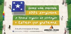 Armazém dos Toldos Campanha: Emancipação de Sergipe Mídia: Facebook