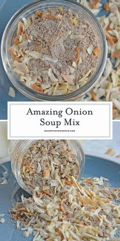 Homemade Onion Soup Mix, Homemade Dry Mixes, Homemade Spices, Homemade Seasonings, Homemade Spice Blends, Homemade Things, Homemade Recipe, Homemade Food, Canning Recipes