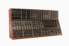 Moog Music is offering for sale recreations of three classic synths: the System 35, System 55, and Model 15 modular synthesizers, all of which were first developed in the 1970s.