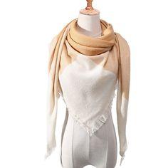 Knitted Spring Winter Women Scarf Plaid Warm Cashmere Scarves Shawls Neck Bandana Lady Wrap Color A Tartan, Bandana, Hijab Style, Cashmere Shawl, Plaid Fashion, Fashion Scarves, Style Fashion, Silk Shawl, Wrap Sweater