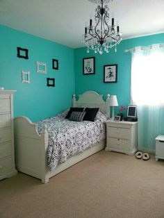23 Most Stylish Turquoise Bedroom Ideas Bedroom Pinterest Teal