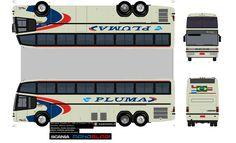Convoy Semi Truck Papercraft   Sejam Bem Vindos ao meu Blog!!!: MARCOPOLO PARADISO GV 1450 VIAÇÃO ...