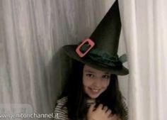 Costumi di carnevale: cappello da strega