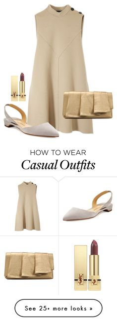 """""""Casual shopping"""" by aby-ocampo on Polyvore featuring Derek Lam, Paul Andrew, Yves Saint Laurent and La Regale"""