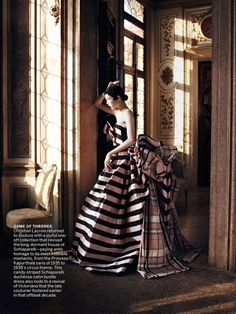 Cinderella Story: Edie Campbell by David Sims for Vogue US September 2013