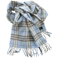 Pre-owned cashmere scarf ($245) ❤ liked on Polyvore featuring accessories, scarves, black, burberry shawl, cashmere shawl, burberry, cashmere scarves and burberry scarves