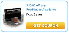 $10.00 Off Any FoodSaver Appliance