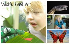 Try some hand art as a craft activity.