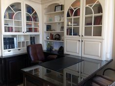 JM Kitchen Cabinet Showroom Denver CO On Colorado Blvd Painted White Home  Office Cabinets At The Denver Showroom.