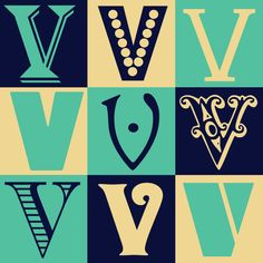 typography-V - Google Search