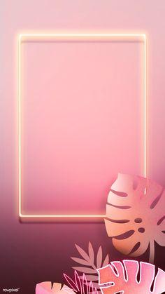 Your Mobile Phone Store. Framed Wallpaper, Pink Wallpaper Iphone, Mobile Wallpaper, Neon Backgrounds, Wallpaper Backgrounds, Paper Sunflowers, Polaroid Frame, Instagram Background, Flower Frame