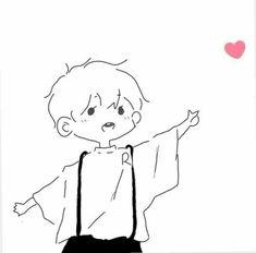 Loli Kawaii, Kawaii Chibi, Kawaii Art, Kawaii Anime, Cute Doodle Art, Cute Doodles, Cute Art, Cute Cartoon Images, Cartoon Art Styles