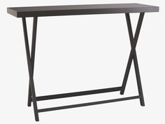 Get two products in one with this high gloss lacquered Oken black side table with removable tray top; use the tray for serving and then rest it on the legs to use as a side table. Buy now at Habitat UK. Table Furniture, Furniture Making, Consoles, Hallway Inspiration, Living Spaces, Living Room, Uk Homes, Luminaire Design, Decoration