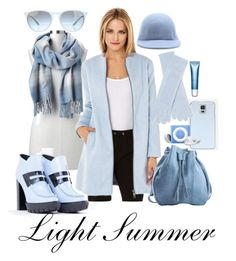 Ready for Winter - Light Summer by prettyyourworld on Polyvore featuring BB Dakota, Kenzo, Meckela, Gap, White + Warren, STELLA McCARTNEY, Ray-Ban and Clarins