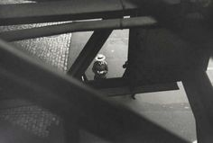 SAUL LEITER From the El, 1955