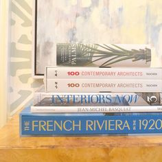 What's a coffee table without a coffee table book?   D Home