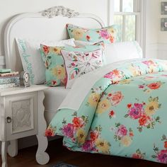 #junkgypsy4pbteen - Junk Gypsy Country Blooms Duvet Cover + Sham