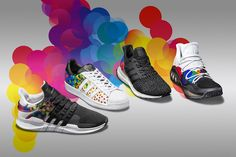 adidas Styles Four Sneakers in Colorful Circles for Pride Pack 2017 - EU Kicks: Sneaker Magazine
