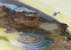 Mystical structure in Mauritania-Richat Structure