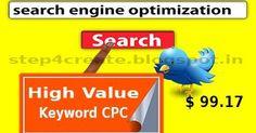 Top CPC Value Keyword Just one Click $105   #searchengineoptimization  #webdesign  #socialmediamarketing  #internetmarketing