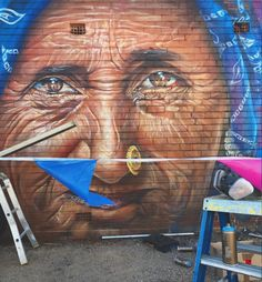 ADNATE FOR Colour Tumby Street Art Festival in  in Tumby Bay, South Australia, 2018