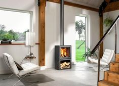 Here are some of our favourite Barbas Bellfires 🔥Barbas Bellfires – Box 67 Freestanding Wood Burning Stove ☎️ 01332 242299 Fireplace Box, Wood Burner Fireplace, Wood Fuel, Freestanding Fireplace, Living Room Modern, Interior Inspiration, Stove, Home Appliances, Furniture