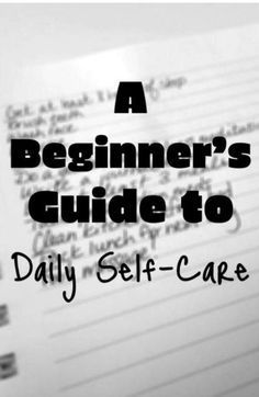 Self-care can be daunting, so here's a super duper easy way to start a daily self-care routine.