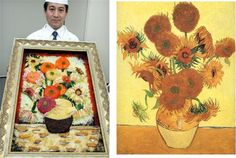 omg, 2 of my favourite things: Sushi and Van Gogh!