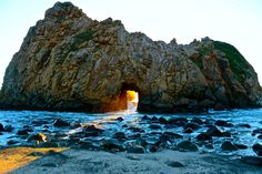 National Park Photo Contest – Landscape Winners 2015 - Los Padres National Forest, The Golden Door At Big Sur By Bachir Badaoui