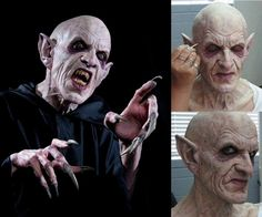 "Actor/creature performer Doug Jones is going to portray the iconic ""Count Orlock"" in an upcoming independent remake of classic horror tale Nosferatu from 1922. In the picture, test makeup for the character, designed by master makeup effects creator Mike Elizalde from Spectral Motion, applied by makeup artists Margaret Prentice and Mario Torres, Jr."