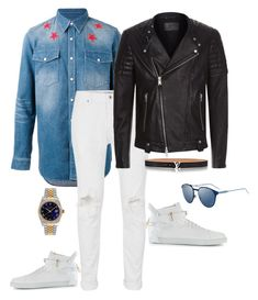 """""""Men wear"""" by ms1-ltu on Polyvore featuring Givenchy, Topman, AllSaints, BUSCEMI, Christian Dior, men's fashion, menswear and man"""