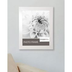 American Made Rayne Glossy White Frame (Polished White, picture size is 24 x 36) (Wood)