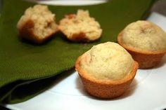 Mini Gluten Free Banana Peanut Butter Chip Muffins