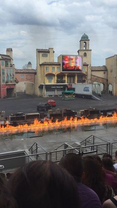 """""""Lights, Motors, Action- Extreme stunt show"""" at Hollywood Studios"""