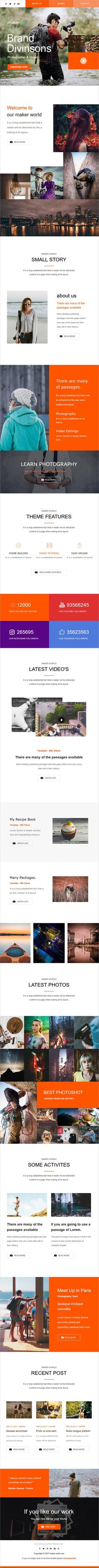 Maker mail is a modern and clean design responsive #Newsletter #Email template for viral #marketing and #promotion with online access download now➩ https://themeforest.net/item/maker-mail-responsive-email-template-online-access/19482792?ref=Datasata