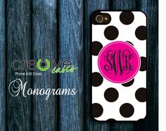 iPhone 4 case iPhone 4s case with personalized by Cre8iveCases, $14.99