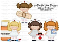 Feel Better Nurses  Original Artwork by Kristi W. Designs  www.kadoodlebugdesigns.com