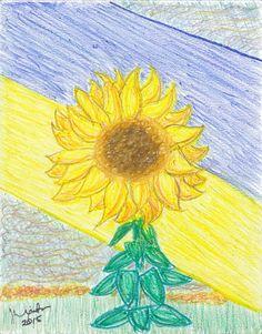 abstract-art-print-ukraine-sunflower