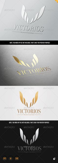 Victorios — Vector EPS #royal #hotel • Available here → https://graphicriver.net/item/victorios/6508186?ref=pxcr