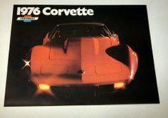1976 Chevrolet Corvette Dealership Brochure/Poster