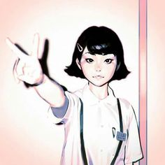 Official Post from Kuvshinov Ilya: My dear patrons will get:♥ High-Res♥ Process Steps♥ PSD♥ Full-Screen Video Processof this piece at this week's rewards! Kuvshinov Ilya, Character Drawing, Storyboard, Cute Drawings, Foto E Video, Art Girl, Illustrators, Anime, Sketches
