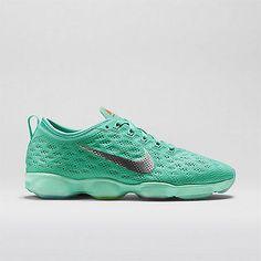 New Women's Nike Zoom Fit Agility 684984 300 Sz 8.5 Turqoise