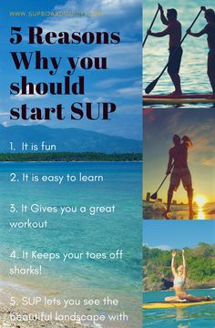 Some reasons why you should start SUPping! Sup Paddle Board, Sup Stand Up Paddle, Standup Paddle Board, Kayak Storage, Offshore Wind, Sup Yoga, Sup Surf, Learn To Surf, Kayak Camping