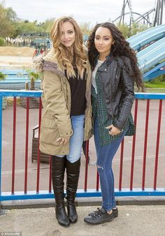 Jade and Leigh-Anne looking gorgeous, and they're not even trying! Please share the beauty