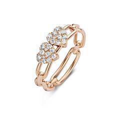 Hulchi Belluni 20163RW Jewelry Trends, Jewelry Sets, Jewelry Accessories, Dimond Ring, Gothic Chokers, Pinterest Design, Unusual Rings, Diamond Design, Ring Designs
