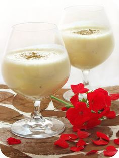 Coquito, our traditional holiday drink that we make together with Mita ( my grandmother )  , and then share  as a family !