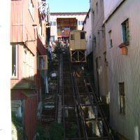 Ascensor Mariposa | Ascensores de Valparaíso Chile, Amor, Elevator, Watercolor Artists, Trains, Antique Photos, Cute, Chili, Chilis