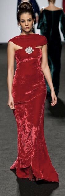 Velvet Fashion, Decor Styles, Formal Dresses, Red, Beautiful, Dresses For Formal, Formal Gowns, Formal Dress, Gowns